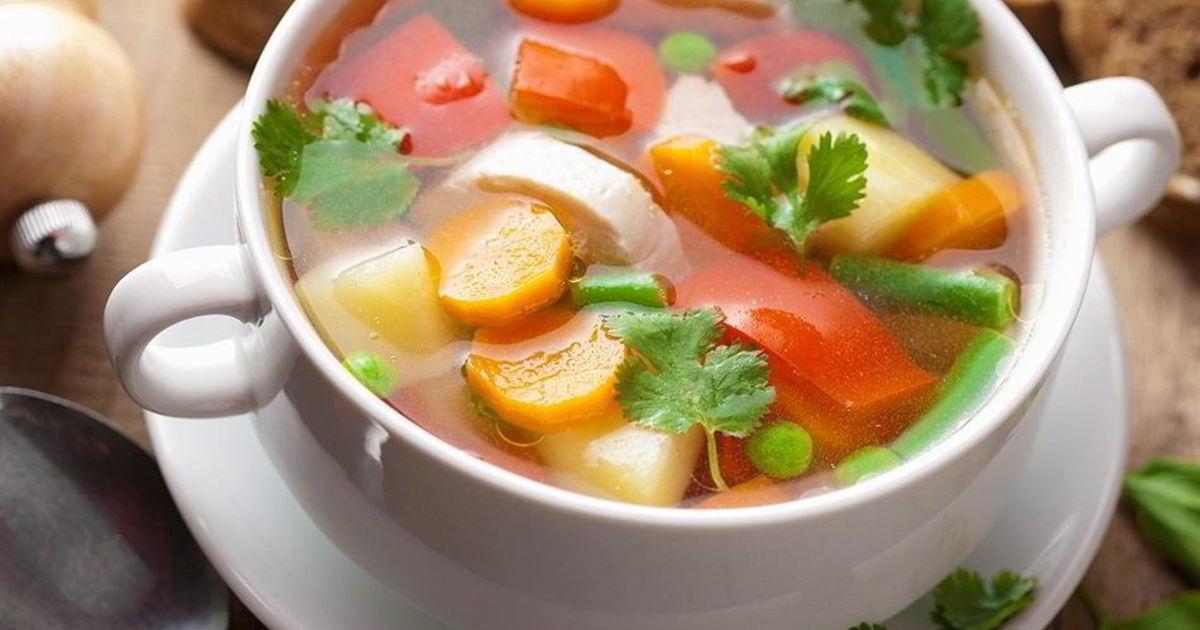 она суп овощной рецепт с фото пошагово для каждой мамы