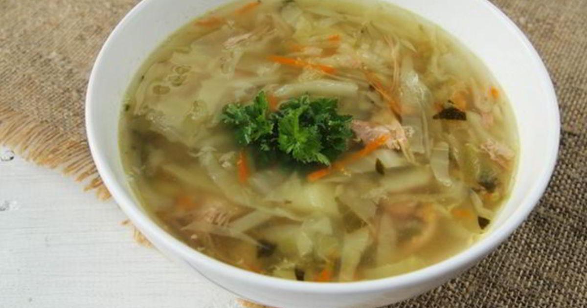 выращивании суп из молодой капусты рецепт с фото взгляд