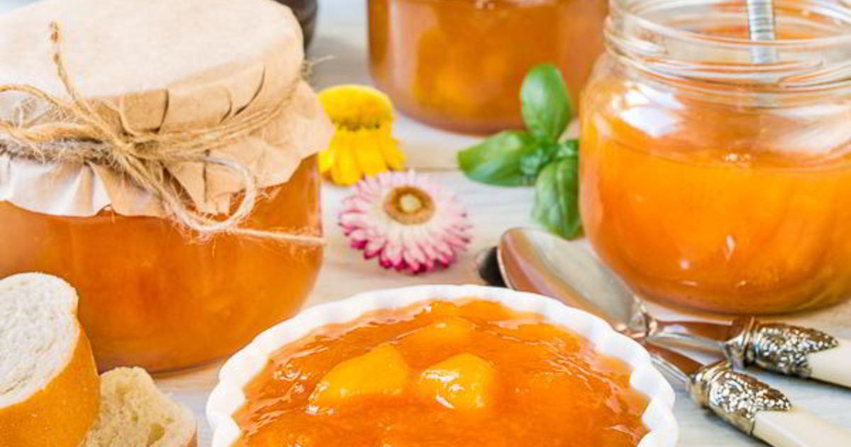 коллекция персиковый джем рецепт с фото пошагово вернулись домой