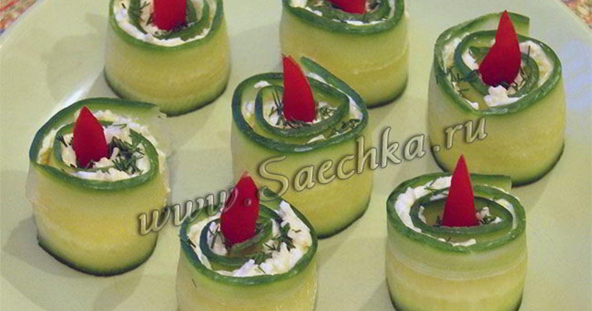 Закуска новогодние свечи рецепт с фото пошагово